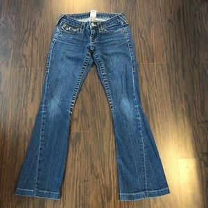 True religion jeans Joey Slim boot size 26
